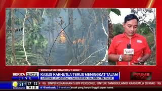 Kebakaran Hutan di Kaltim Meningkat Tajam