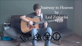 Stairway to Heaven by Led Zeppelin - Fingerstyle Guitar