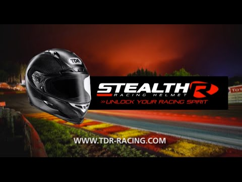 TDR Stealth-R Racing Helmet - Unlock Your Racing Spirit