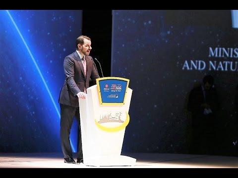 Berat Albayrak, Minister of Energy, Turkey  /Day1_ World Energy Congress 2016