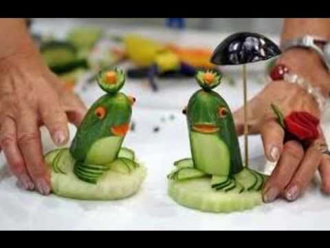 Vegetable Salad Decoration For Kids Competition Youtube