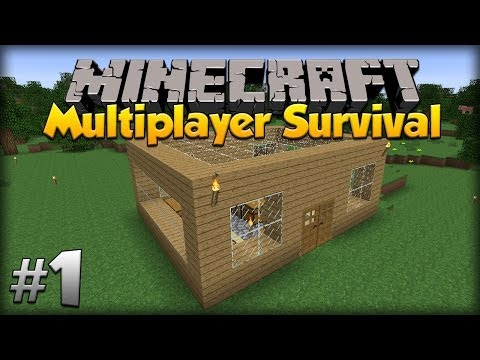Minecraft Multiplayer Survival: w/moomoomage - Episode 1