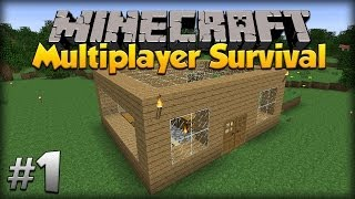 Minecraft Multiplayer Survival: w/moomoomage - Episode 1
