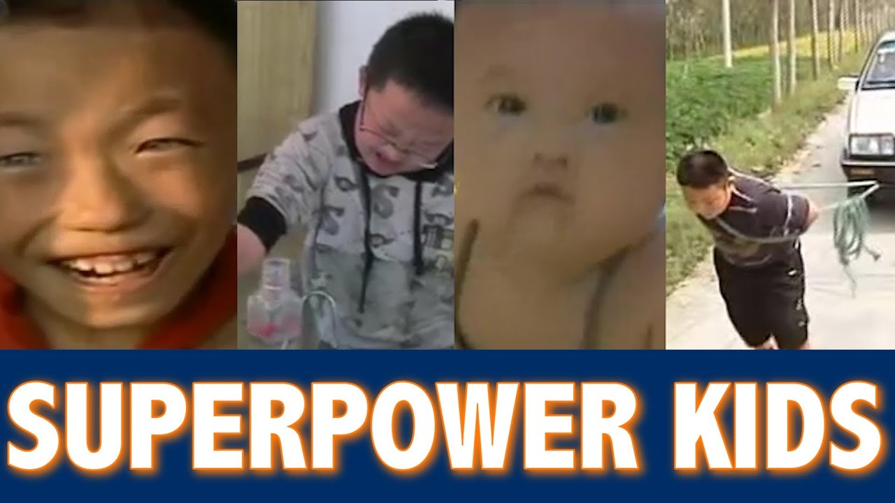 Kids With Superhuman Powers In China YouTube - 10 superpowers that would actually suck in real life