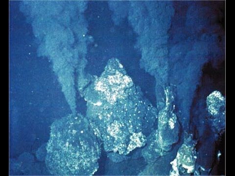 JR Chadwick claims hydrothermal vents not water but gas!