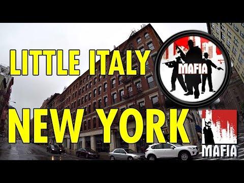 Pravá Little Italy v NY - Předloha pro MAFII | Jiu-Jitsu | Metro v New Yorku | Simča peče!