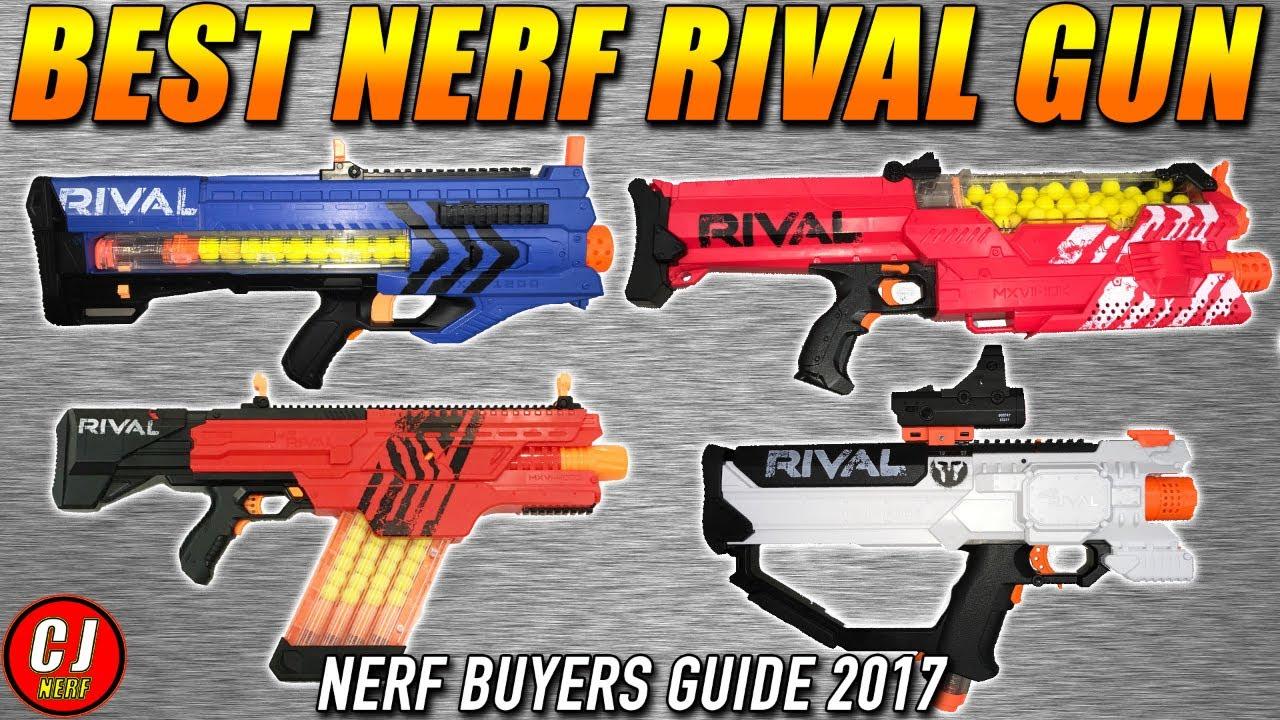 Nerf Buying Guide Best Nerf Rival Gun 2017 Flywheels Episode 6