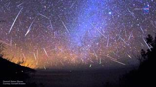Perseids meteor shower 2015