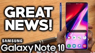 SAMSUNG GALAXY NOTE 10 - Incredible News For Note Fans!