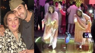 Ranbir Kapoor's Aunt Reema Kapoor DANCE At Saudamini Mattu Wedding Reception