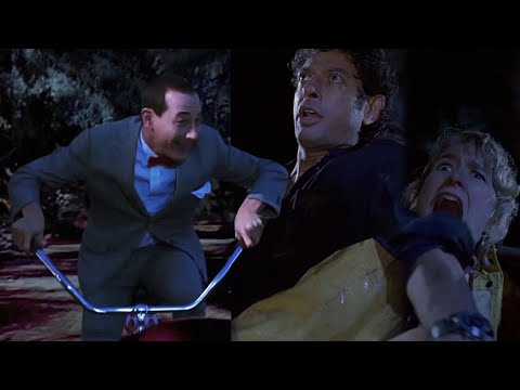 The Ace & TJ Show - Pee Wee Herman Shows Up in Jurassic Park!