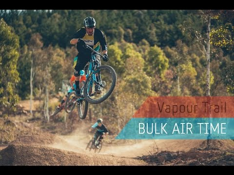 Vapour Trail, Stromlo Forest Park: Bulk Air Time