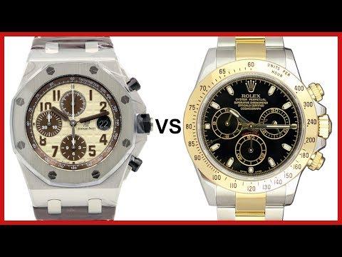 Audemars Piguet Royal Oak Offshore vs Rolex Daytona - Chronograph COMPARISON