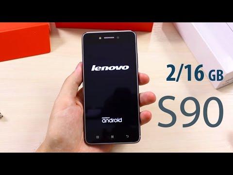 Посылка Из Китая Lenovo S90 2GB/16GB Космический Серый