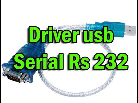 Drive usb serial rs 232 veja como instalar