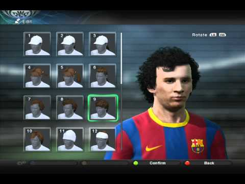 Pes 2011 Special Hairstyles Youtube