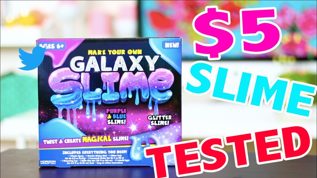 5 diy galaxy slime kit tested does it work youtube. Black Bedroom Furniture Sets. Home Design Ideas