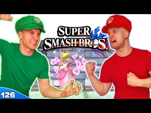 Bros Play Super Smash Bros 4 ✪ FIGHT FOR THE PRINCESS! ● Multiplayer #126 - 동영상