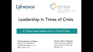 5 Things Great Leaders Do in a Crisis