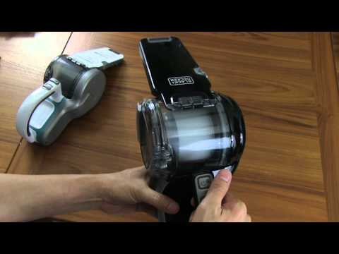 Reviewed- Black & Decker 20v Lithium Pivot Hand Held Vacuum from YouTube · Duration:  5 minutes 48 seconds