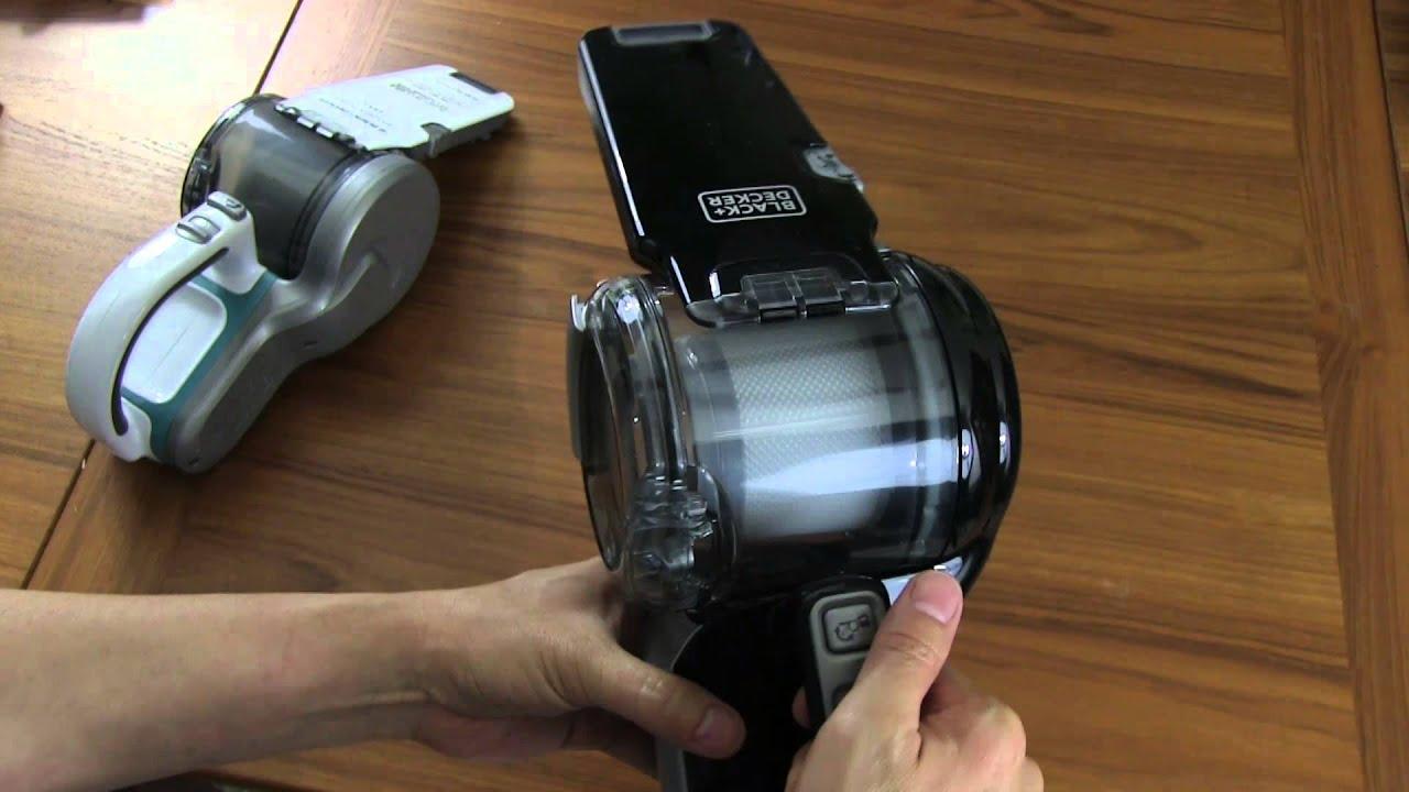 Black Decker Bdh2000pl >> Reviewed Black Decker 20v Lithium Pivot Hand Held Vacuum Youtube