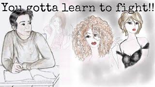 Girlfriend, You Gotta Learn To Fight! | Paul Flint & Phil Lees (ft. LW)