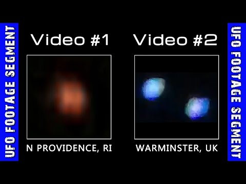 UFO SIGHTINGS • 2 Videos • Rhode Island • Wiltshire UK