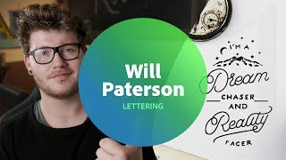Live Lettering with Will Paterson 1 of 3