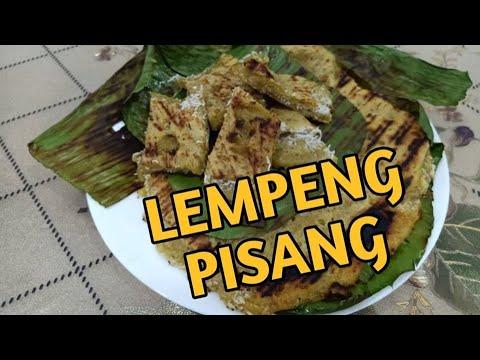 Resepi 38 Lempeng Pisang Dengan Kelapa Parut Banana Pancake With Grated Coconut Youtube