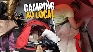On a mis un Serpent dans la tente de Théa pendant le Camping - Les Coulisses du Local #3
