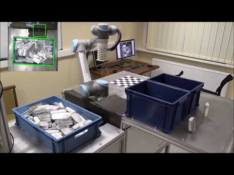 Computer Vision, Artificial Intelligence and Industrial Robot system for smart production