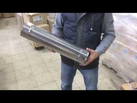 Дымоходная Труба 0,5м (ф115, 0,8мм)