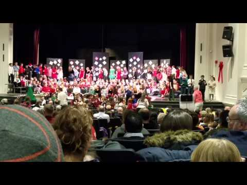 William allen school winter concert 2014 part 1 of 2