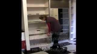 Видео обзор шкафов-купе, материалов и фурнитуры.
