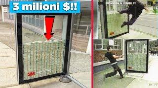 Chi rompe questo vetro si prende i 3.000.000 $! 5 idee pubblicitarie da non credere!