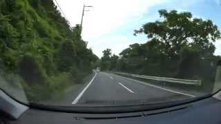 岡山県道252号万富吉井線、R2-r96 吉井川沿いを北上  車載動画 HX-A500