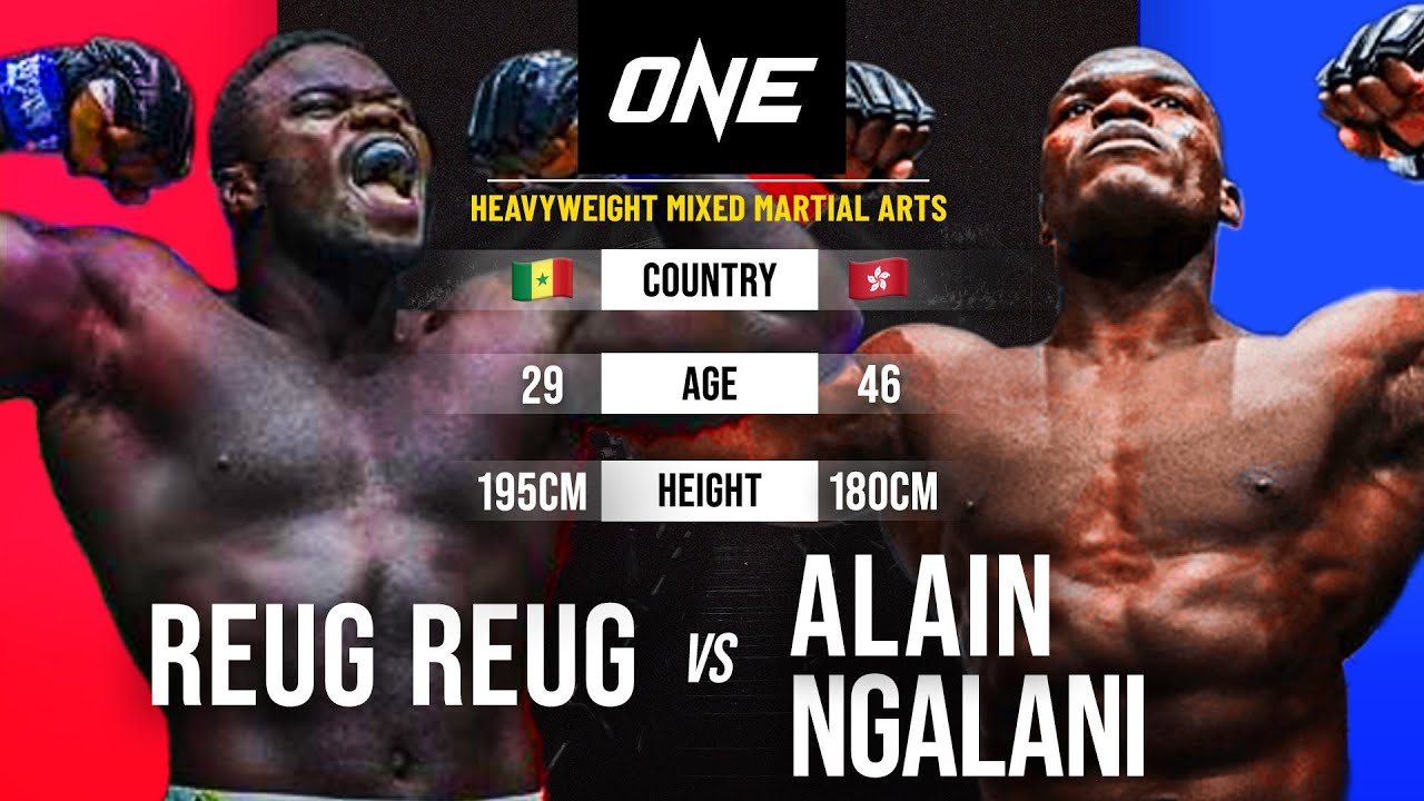 Reug Reug vs. Alain Ngalani   Full Fight Replay