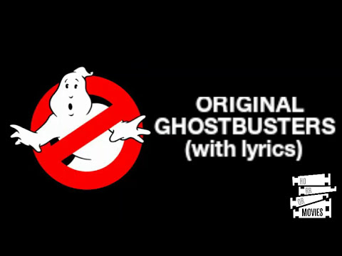 GHOSTBUSTERS with lyrics  YouTube