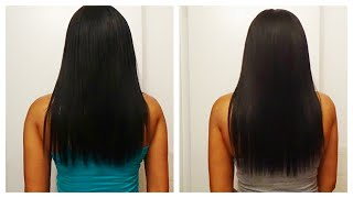 Biotin 90 Day Hair Growth Challenge Update for Relaxed Hair
