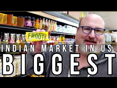 BIGGEST INDIAN 🇮🇳MARKET TOUR IN USA | 🇺🇲 | KT GRILL | INDIAN GROCERY IN USA | CHEF JEFF