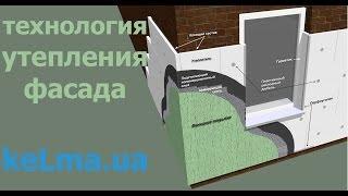 Наружное #Утепление стен фасадов дома или квартиры пенопластом минватой(, 2014-04-06T18:21:10.000Z)