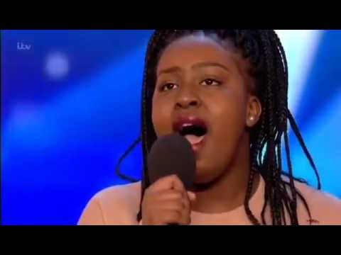 A proud moment for Kenya! 15 years old Sarah Ikumu do the unbelievable on Britain Got Talent.