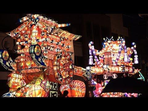 富山の祭 砺波夜高祭(突き合わせ 其の二)2019/06/15