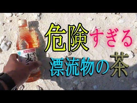 まさか…漂流物のお茶を飲むわけないよね??? [無人島生活 キジムナ―商店編 #4]