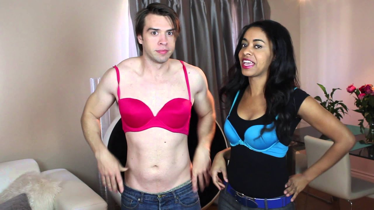 How to Put on a Bra #1
