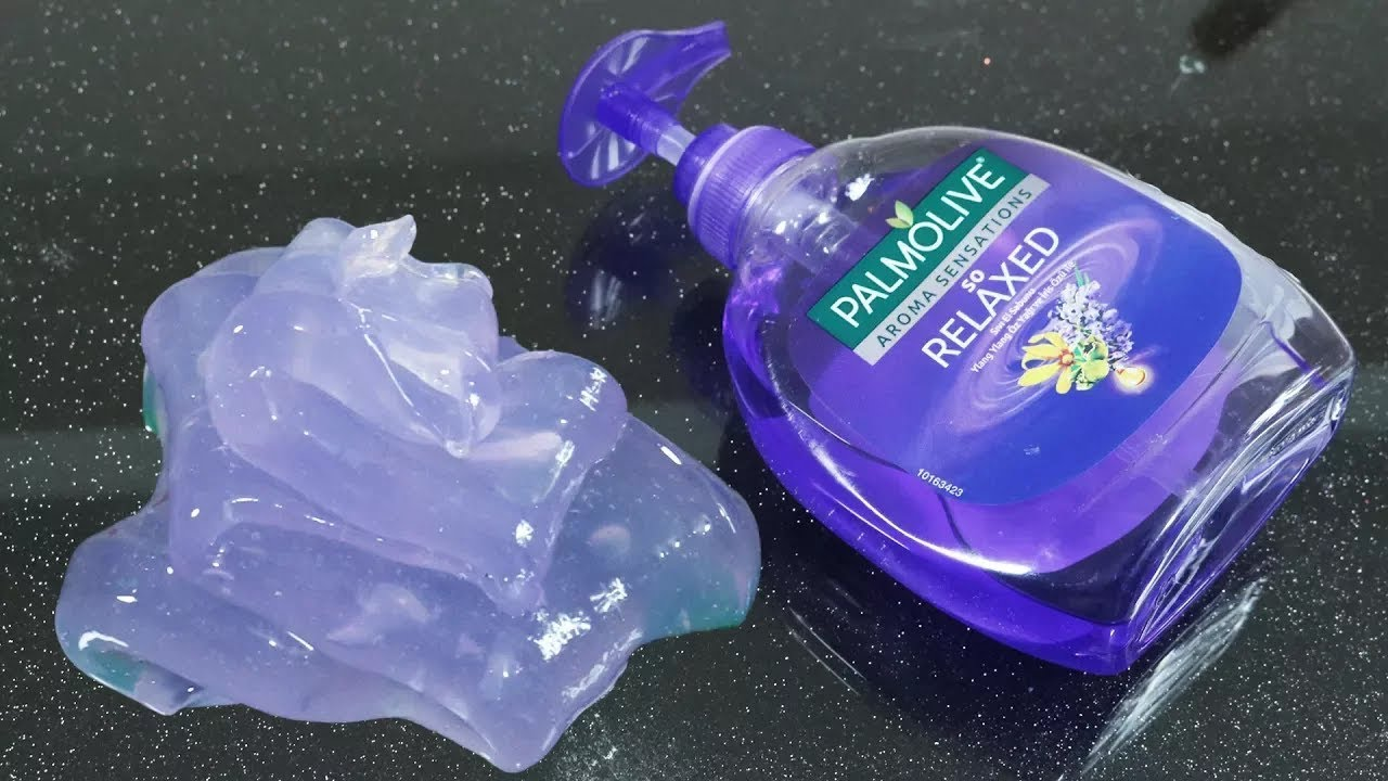 Slime Sin Pegamento Slime De Jabón De Manos Y De Azúcar Slime Transparente De 2 Ingredientes Youtube