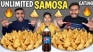 50X SAMOSE EATING CHALLENGE / Unlimited Samose Eating Competition / Funny Food Challenge🔥👌🙏