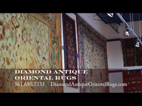 Antique Oriental Rugs, West Palm Beach Antique Rugs,Rugs Lake Worth Fl.Diamond Antique Rugs