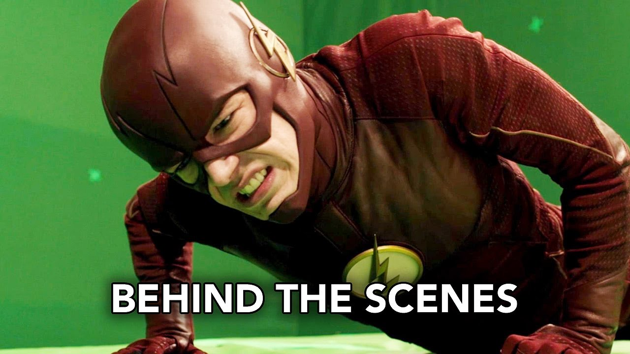 The Flash 3x13 Behind the Scenes
