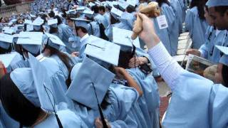 New York, New York & Empire State of Mind @ Columbia Graduation